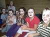 Sommerferienhort 2009 - Gurkenmaske