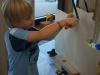 Sommerferienhort 2009 - Basteln und Laubsägearbeiten